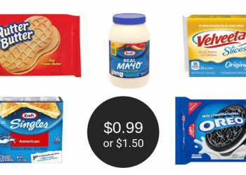 Safeway Weekend Coupons = Kraft Mayo $1.50, Oreo & Nutter Butter Cookies $0.99, & Kraft or Velveeta Slices $1.50