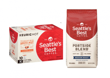 Seattle's Best Coffee Bags & K-Cups Coupons & Sale, Pay as Low as $3.82 Per Box at Safeway