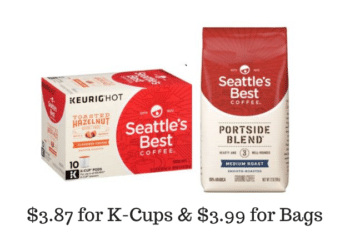 Seattle's Best Coffee Bags & K-Cups Coupons & Sale, Pay as Low as $3.87 Per Box at Safeway