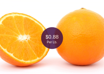 Signature Farms Oranges on Sale at Safeway, 8 Pounds for $6.99 | $0.88 per Lb.