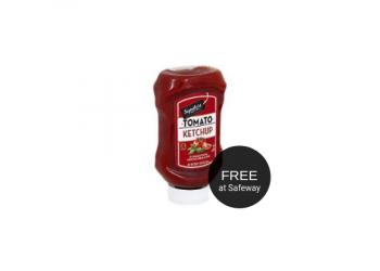 FREE Signature SELECT Ketchup & $1.00 for Mustard and Relish at Safeway