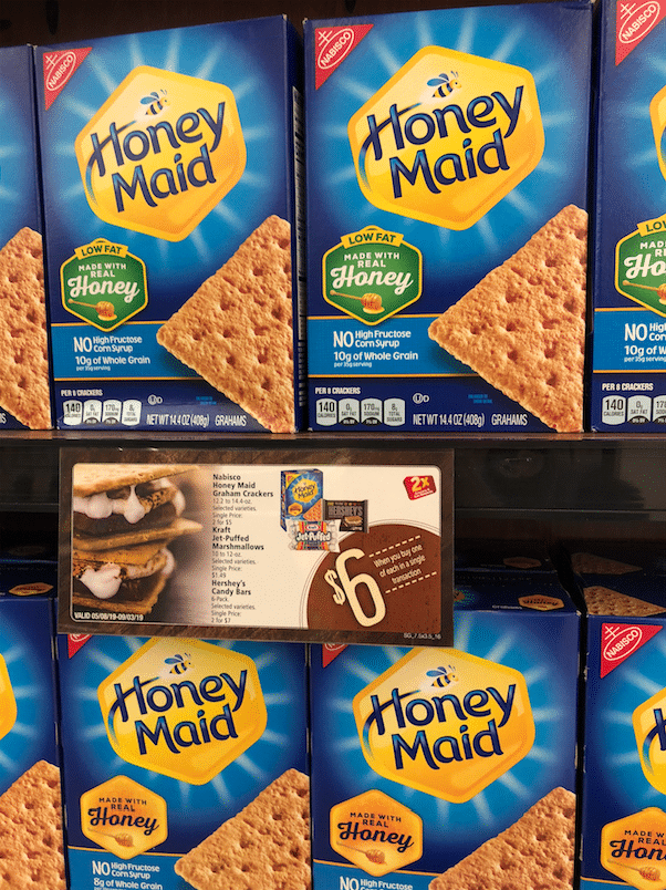 Smores deal at Safeway