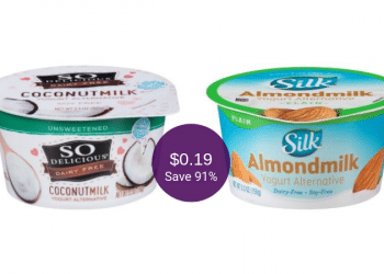 Silk and So Delicious Yogurt Alternatives for as Low as $0.19 at Safeway