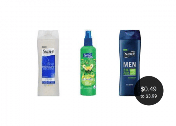 Suave Hair Care Deals at Safeway = as Low as $0.49 for Shampoo & Conditioner