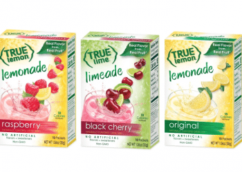 True Lemon Drink Mix Just $.99 with Sale and Coupon – Save 75% at Safeway