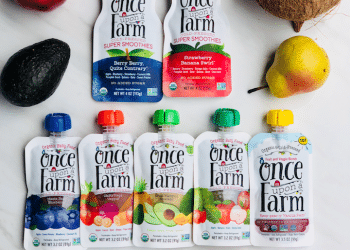 Once Upon a Farm Organic Cold Pressed Blends for Babies, Toddlers and Kids – Sale, Coupon and Giveaway