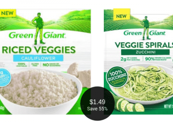 Green Giant Riced Veggies or Veggie Spirals for $1.49 at Safeway After the Deal