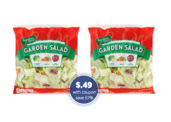 Signature Farms Salad for Only $.49 After Coupon at Safeway