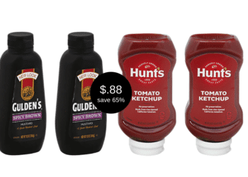 Gulden's Spicy Brown Mustard and Hunt's Ketchup Just $.88 at Safeway, Save 65%