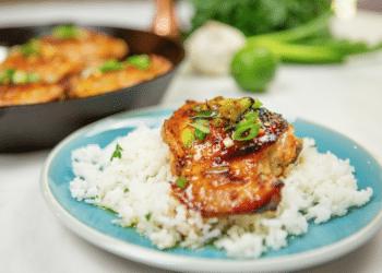 Spicy Honey Garlic Chicken Recipe