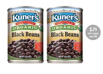 29¢ Kuner's Organic Beans and 39¢ Southwest Beans at Safeway