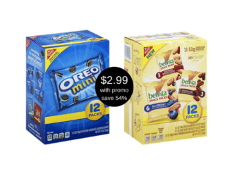 Nabisco Multipack Cookies and Crackers Just $2.99 at Safeway