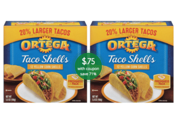 Ortega Coupon & Sale at Safeway, Pay just $.75 for Taco Shells, Tostadas and Chiles