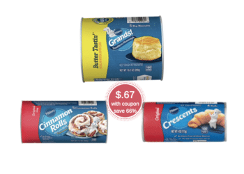 Pillsbury Coupons & Sale at Safeway Pay Just $.67 for Crescent Rolls, Biscuits, or Cinnamon Rolls