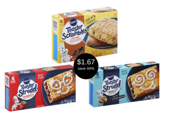 Pillsbury Toaster Scrambles & Toaster Strudel for $1.67 Each at Safeway
