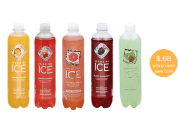 Stock up on Sparkling Ice Beverages, Just 68¢ Each With Coupons at Safeway