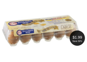 Eggland's Best Cage Free Eggs Coupon, Only $1.99 for a Dozen at Safeway