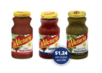 Last Chance – Get La Victoria Salsa for Just $1.24 at Safeway – Save 69%