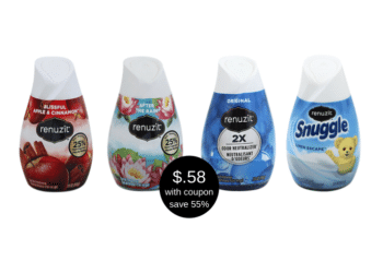 Renuzit Adjustables Air Freshener Cones on Sale at Safeway, Pay $.58 Each After Coupon