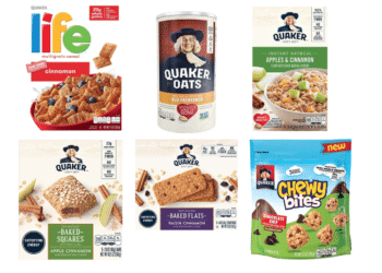 Quaker Instant Oatmeal as low as $1.25 With Buy 2 Get 2 Free Quaker Cereal, Oats, and Bars Sale at Safeway