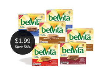 Save 56% on NEW belVita Soft Filled Biscuits, Protein Biscuits, Sandwich Biscuits and Bites, Just $1.99 at Safeway