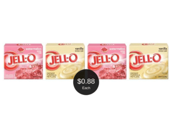 Jell-O Gelatin and Pudding on Sale at Safeway, Only $0.88 Per Box