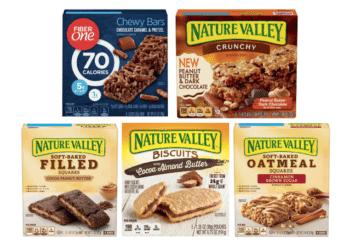 99¢ Nature Valley Granola Bars and Fiber One Bars at Safeway