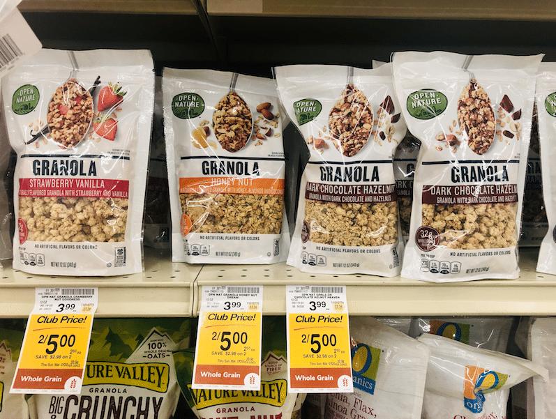 Open_nature_Granola_Flavors