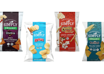Save 50% on Simply Organic Tostitos & Doritos, Simply Lay's Chips and Simply Cheetos at Safeway