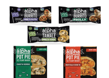 Save on Alpha Plant-Based Burritos, Tamales, and Pot Pies with New Alpha Foods Coupons at Safeway