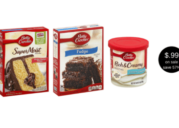 Betty Crocker Brownies & Cake Mix for $0.99 at Safeway