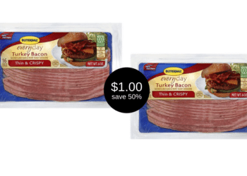 Butterball Turkey Bacon Sale is Going on at Safeway, Only $1.00 Each | Save 50% Easily