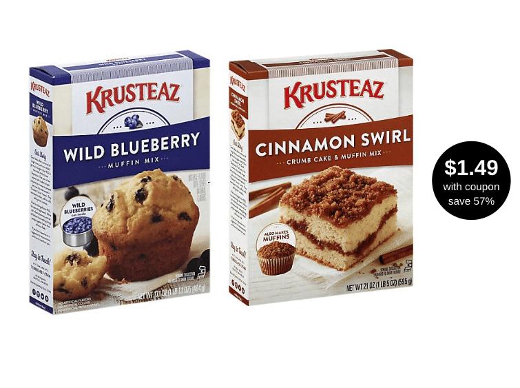 krusteaz_muffin_mix_Flavors