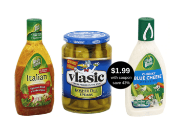 Wishbone Dressing & Vlasic Pickles Deal, Pay $1.99 Each at Safeway