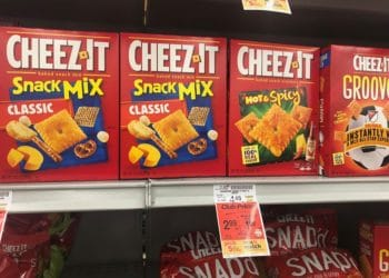 Cheez-It Cracker Sale at Safeway, Pay Just $1.99 Per Box
