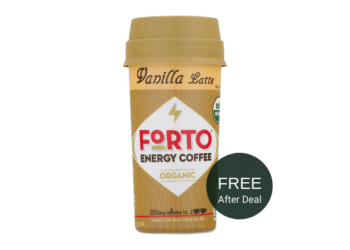 FREE Forto Energy Coffee at Safeway After Deal | Save up to 100%