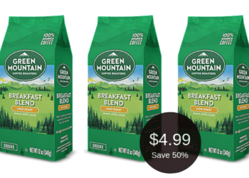 Green Mountain Coffee Sale at Safeway This Week, Pay $4.99 | Save 50%