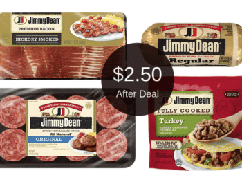 Jimmy Dean Sale and Coupons = $2.50 for Sausage After the Deal at Safeway