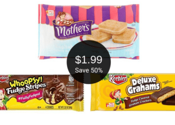Mother's & Keebler Cookies Sale at Safeway = Pay $1.99 Per Package