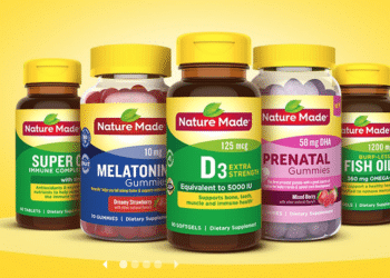 Get Nature Made Vitamins for as Low as $3.49 Each at Safeway