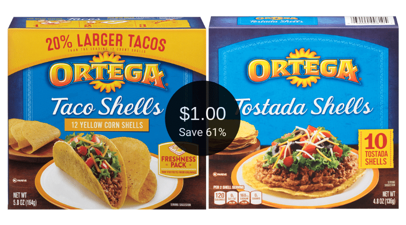 Ortega Taco Mix Just 75 Or Pay 1 00 For Taco Shells Tostadas And Chiles At Safeway Super Safeway