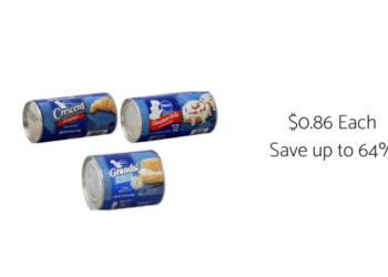 Pillsbury Refrigerated Baked Goods Coupons & Sale at Safeway = Only $0.86 Per Product