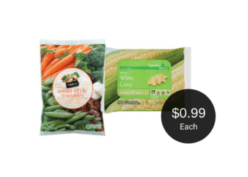 Signature Kitchens & Signature SELECT Vegetables for $0.99 Each at Safeway
