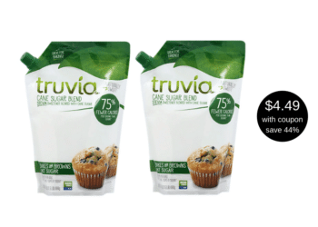 New Truvia Cane Sugar Blend Coupon and Sale, Save $3.50 at Safeway