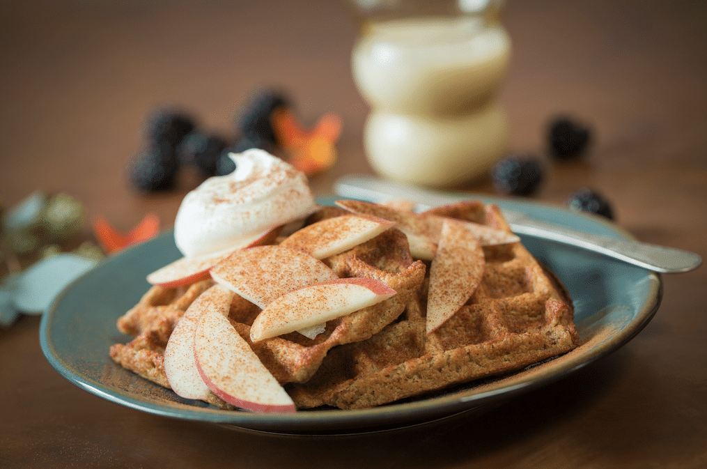 apple_oat_waffles