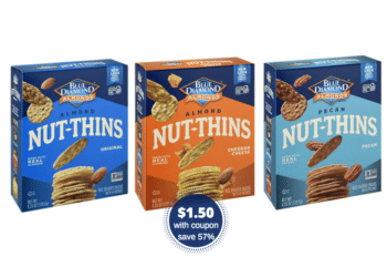 Get Blue Diamond Nut-Thins Crackers for Just $1.50 a Box at Safeway