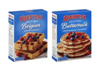 $1.49 Krusteaz Belgian Waffle Mix and Pancake Mix at Safeway