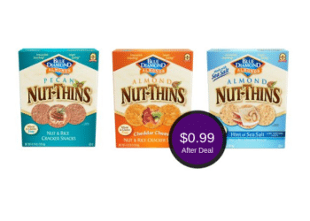 Blue Diamond Nut-Thins Coupon & Sale at Safeway = Only $0.99 After the Deal