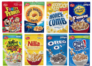 Cereals by Post as Low as $1.49 a Box at Safeway