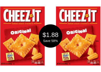 Cheez-It Baked Snack Crackers on Sale for $1.88 Each at Safeway | Save 58% Easily